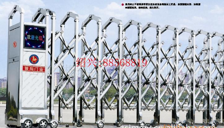 绍兴杭绍新品上市精品推荐多种高质量的不锈钢电动门安装