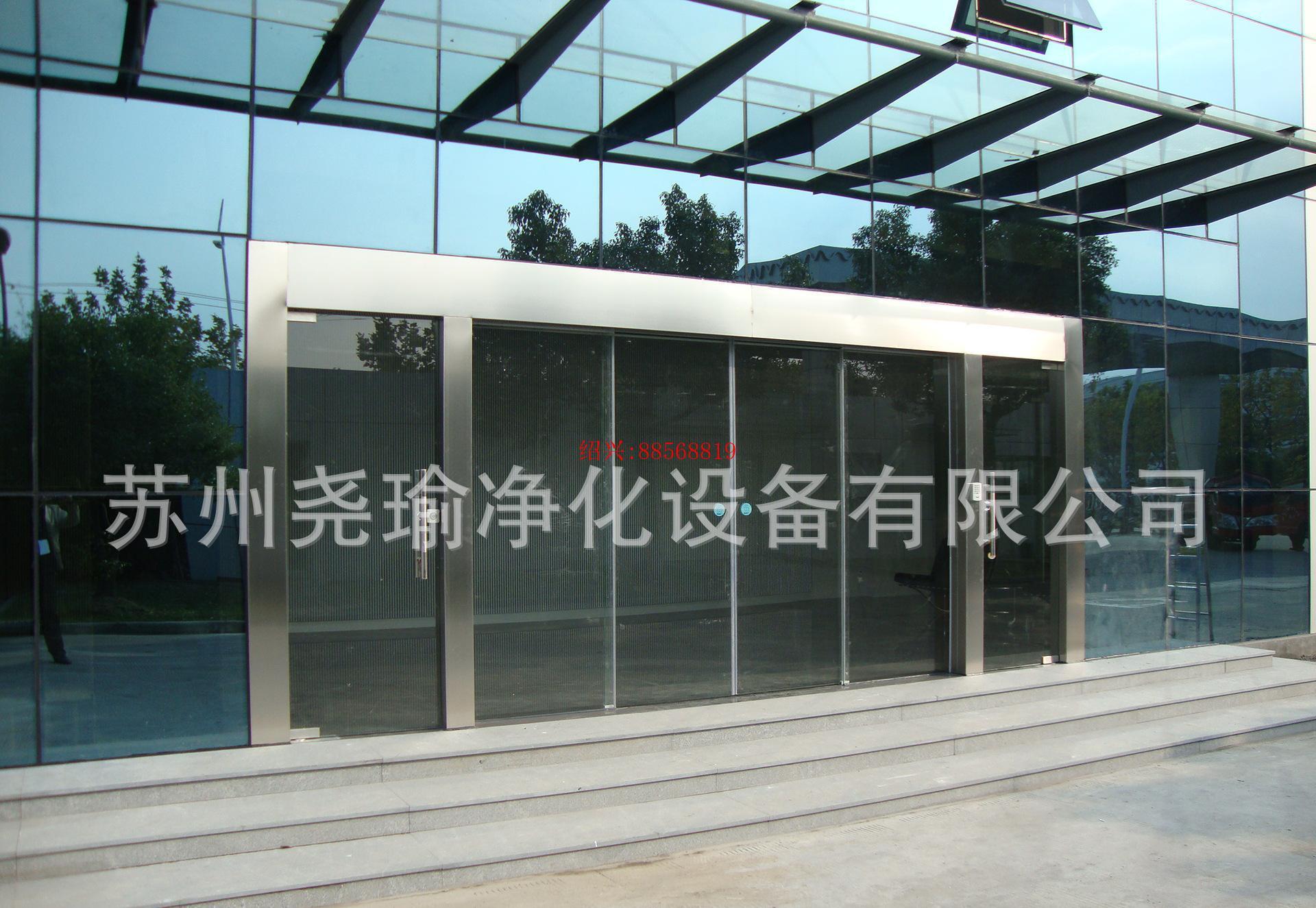 绍兴全镇镇自动平移门 玻璃自动门 感应平移门 电动门批发